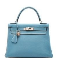 Heritage Auctions Special Collection Hermes 28Cm Blue Jean Togo