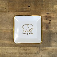White Trinket Tray