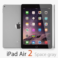 Apple iPad Air 2, 64GB Wi-fi 9.7in Space Gray - EXCELLENT CONDITION