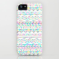 Neon Tribal Pattern iPhone & iPod Case by An Luong