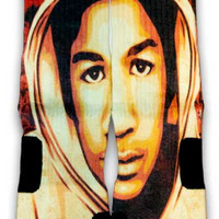 Trayvon Nike Custom Elite Socks | CustomizeEliteSocks.com™