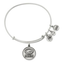 Green Bay Packers Logo   Alex and Ani Russian Silver