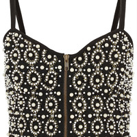 Pearl Embellished Bralet - Tops - Going Out - Collections - Topshop
