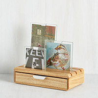 Minimal Display or Stash Away Keepsake Box by ModCloth