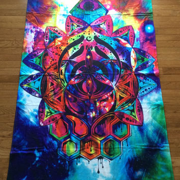 Bassnectar - Fleece Blanket