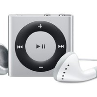Apple iPod shuffle 2 GB Silver (4th Generation) OLD MODEL:Amazon:MP3 Players & Accessories
