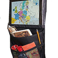 Car (Over Back Seat) Organizer , Transparent for Tablet and Pocket