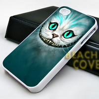 Cheshire Cat Alice in Wonderland - iPhone Case and Samsung Case.BeachCoverr.