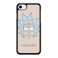 Rick And Morty - Rick Quote iPhone 8 Case