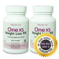 One XS Diet Pills (X-Strength) Pharmaceutical Grade Weight Loss Diet Pills. Appetite suppressor Fat Burner. Lose Weight 100% Guaranteed! 60 ct - 2 months supply