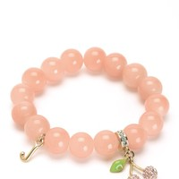 Pave Cherry Beaded Bracelet by Juicy Couture
