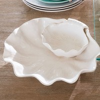SHELL CHIP AND DIP BOWL