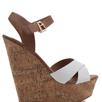 Spite Contrast Cork Wedge