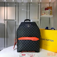 HCXX 19Aug 632 Louis Vuitton LV N40157 Canvas Discovery Backpack 37-40-20cm