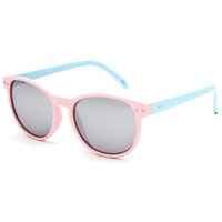 Full Tilt Round Wayfarer Sunglasses Coral One Size For Women 25384831301