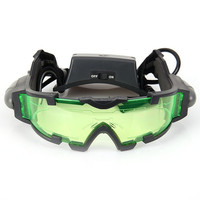 Night Vision Goggles Windproof glasses with flip-out lights = 1843120068
