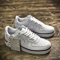 Nike Air Force 1 Low 488298-160 AF1 White Shoes - Sale