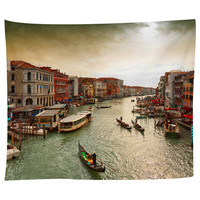 The Canals of Venice Tapestry