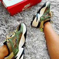 Nike M2K Tekno Retro Popular Woman Men Casual Sport Sneakers Shoes