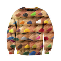 Colored Pencils Sweatshirt