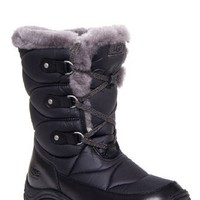 UGG Australia Lorien Low Heel Moc Toe Lace Up Winter Boot