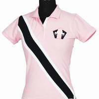 Equine Couture Ladies Bermuda Short Sleeve Polo Shirt