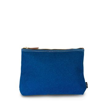 Travel Pouch - Waxed Navy