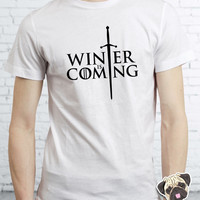Game Of Thrones Inspired Winter Is Coming Stark T-shirt