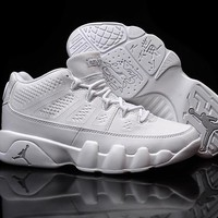 Nike Air Jordan 9 Retro Low White Men Sport Shoe Size US 7-13
