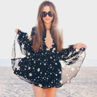 FASHION SHINING STARS DRESS
