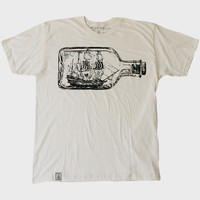 Natural Ship in a Bottle T-Shirt