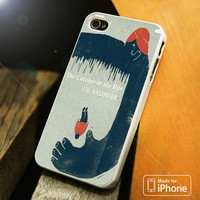 The Catcher In The Rye vintage iPhone 4S/5S/5C/SE/6S Plus Case