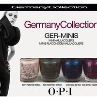 OPI 2012 Germany Collection Ger-minis Nail Lacquers 1/8th Sizes | AihaZone Store