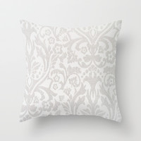 Victorian Throw Pillow by PinkBerryPatterns