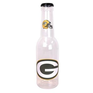 "Green Bay Packers 21"" Plastic Bottle Bank"