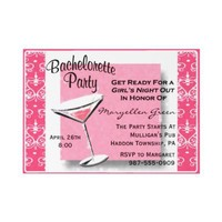 Bachelorette Party Invitation-Easy to Customize! from Zazzle.com