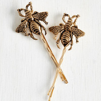 Critters Bee Prepared Hair Pin Set by ModCloth