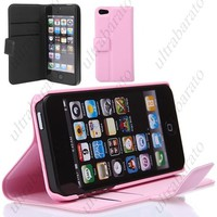 Protective Leather Case Cover Shell Protector for Apple iPhone 5 5S from UltraBarato Gadgets