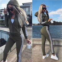 Stylish Casual Set Hot Sale Women's Fashion Sportswear Set [11930227471]