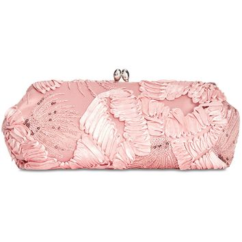 Adrianna Papell Sia Embroidered Small Clutch Handbags & Accessories - Macy's