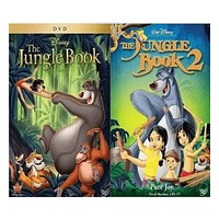 Walt Disney's Jungle Book 1&2 DVD Set 2 Movie Collection
