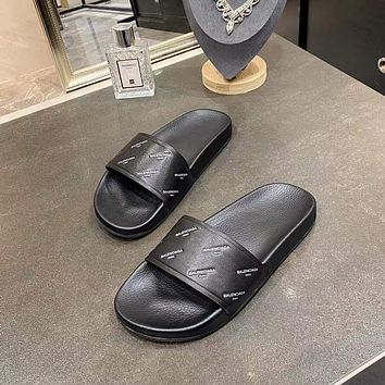 Balenciaga Men's And Women's 2021 NEW ARRIVALS Slippers Sandals Shoes