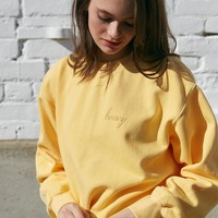 John Galt Honey Crew Neck Pullover Sweatshirt at PacSun.com