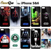 Unique! Darth Maul Skywalker Star Wars Cool Portrait Art Printing Cover For  iPhone 7 7 Plus 6s 6 5S 5 Starwars Case
