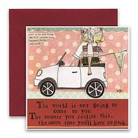 Time To Pack Greeting Card