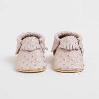 Heirloom in Blush and Gold - FP Signature Moccasins
