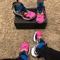 NIKE AIR Presto Mid x ACROONYM Zipper jogging shoes
