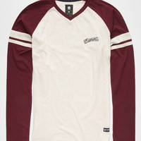 Element Elevate Mens T-Shirt Wine  In Sizes