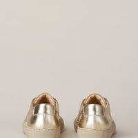 Totokaelo - Woman by Common Projects Gold Original Achilles Low Top Sneaker - $247.20