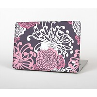 """The Pink and White Solid Flowers Skin for the Apple MacBook Air 13"""""""